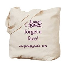 ALWAYS Tote bag with purple writing