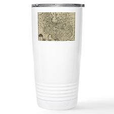 Persia Ancient Map 1747 Thermos Mug