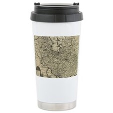 Persia Ancient Map 1747 Travel Mug
