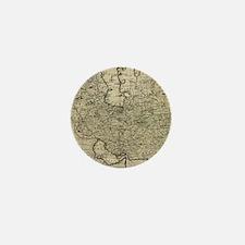 Persia Ancient Map 1747 Mini Button