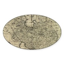 Persia Ancient Map 1747 Decal