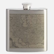 Persia Ancient Map 1747 Flask