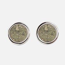 Persia Ancient Map 1747 Cufflinks