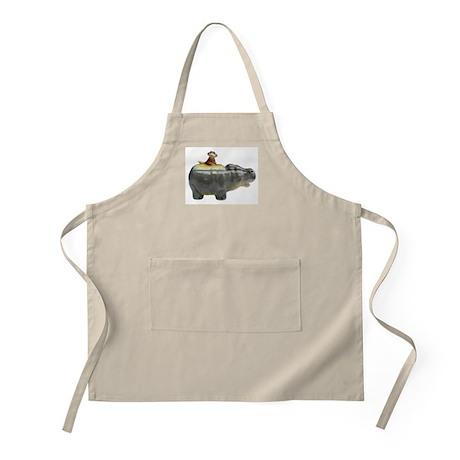 Hippo & Monkey Basic BBQ Apron