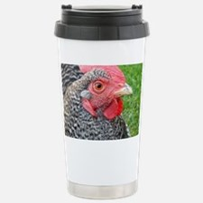 Plymouth Barred Rock Ch Stainless Steel Travel Mug