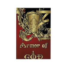 Armor of God Rectangle Magnet
