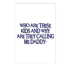 WHO ARE THESE KIDS Postcards (Package of 8)