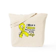 Hero in My Life Endometriosis Tote Bag