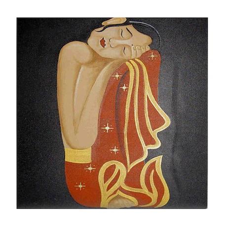 THAI LADY Tile Coaster