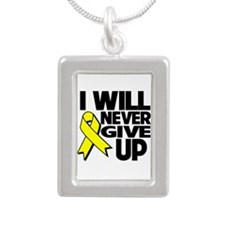 Endometriosis I Will Never Give Up Silver Portrait