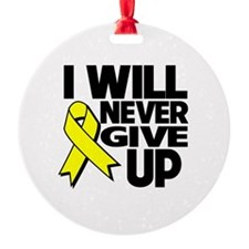 Endometriosis I Will Never Give Up Ornament