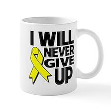 Endometriosis I Will Never Give Up Small Mug