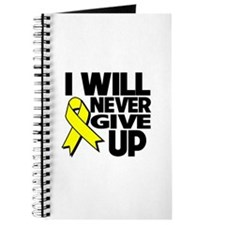 Endometriosis I Will Never Give Up Journal
