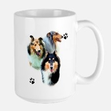 Collie Trio Mug