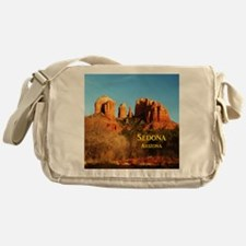 Sedona_11x9_CathedralRocks Messenger Bag