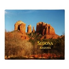 Sedona_11x9_CathedralRocks Throw Blanket