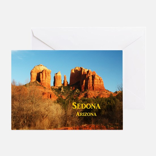 Sedona_11x9_CathedralRocks Greeting Card