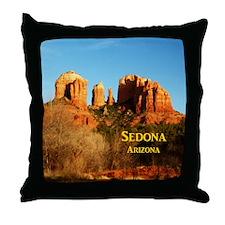 Sedona_11x9_CathedralRocks Throw Pillow