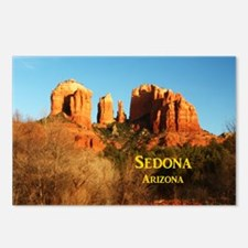 Sedona_11x9_CathedralRock Postcards (Package of 8)
