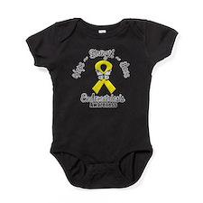 Hope Strength Love Endometriosis Baby Bodysuit