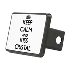 Keep Calm and kiss Cristal Hitch Cover
