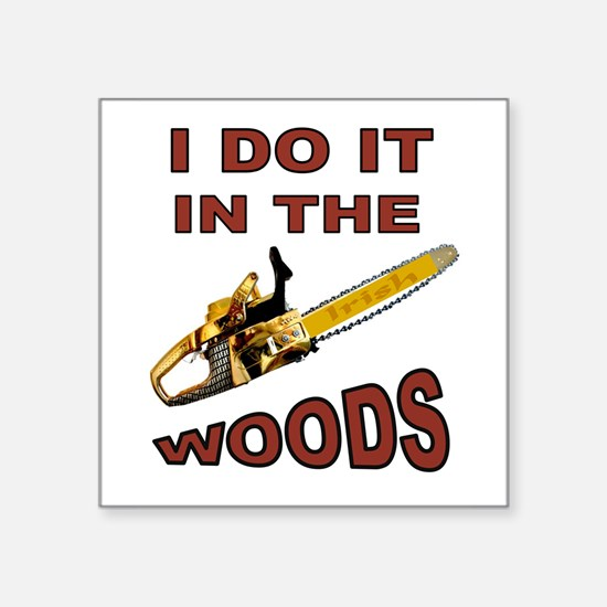 WOODSMAN Sticker