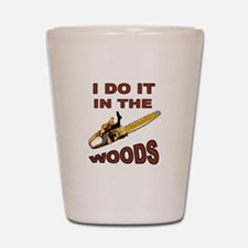 WOODSMAN Shot Glass