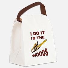 WOODSMAN Canvas Lunch Bag