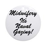 The Naval Gazer's Ornament (Round)