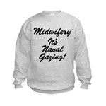 The Naval Gazer's Kids Sweatshirt