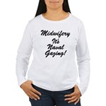 The Naval Gazer's Women's Long Sleeve T-Shirt