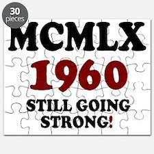 ROMAN NUMERALS - MCMLX - 1960 - STILL GOING Puzzle