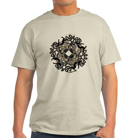 Samhain T-shirt - White /Gray /Blue