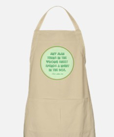 Clean Sheet on Top Apron