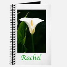 Unique White calla lily Journal