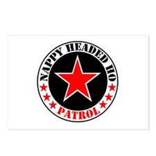 """""""Nappy Headed Ho Patrol"""" Postcards (Package of 8)"""