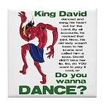 Do You Wanna Dance? Tile Coaster
