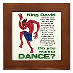 Do You Wanna Dance? Framed Tile