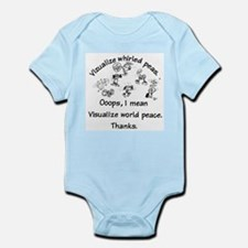 Visualize World Peas Infant Bodysuit