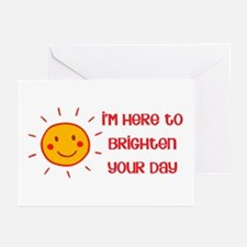Brighten Your Day Greeting Cards (Pk of 10)