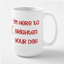 Brighten Your Day Large Mug