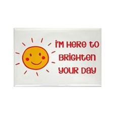 Brighten Your Day Rectangle Magnet