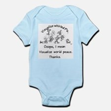 Visualize Whirled P's Infant Bodysuit
