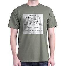 Visualize Whirled P's T-Shirt