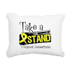 Take a Stand Endometriosis Rectangular Canvas Pill