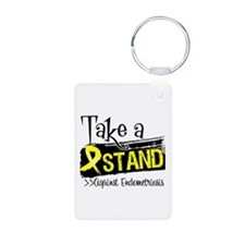 Take a Stand Endometriosis Keychains