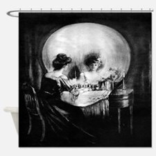 All Is Vanity Shower Curtain