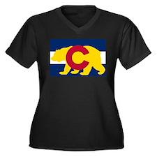 Calirado Republic Flag 4 Plus Size T-Shirt