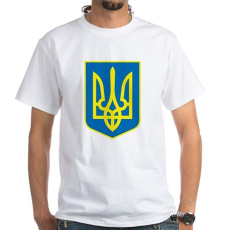 Ukraine White T-Shirt