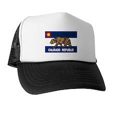 Calirado Republic Flag 2 Trucker Hat